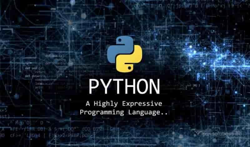 برمجة التطبيقات باستخدام لغة البايثون