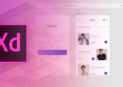 دورة Adobe Experience Design UI UX